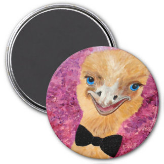 Party Ostrich Magnet