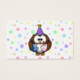 party owl business card