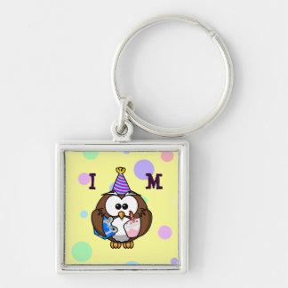 party owl keychain