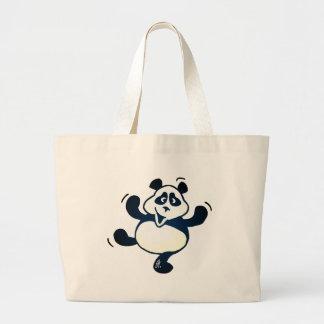 Party Panda Large Tote Bag