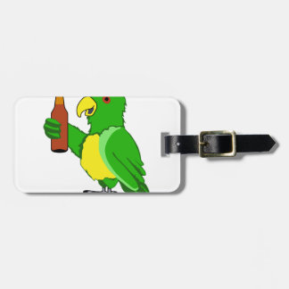 Party Parrot Bag Tag