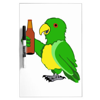 Party Parrot Dry Erase Board