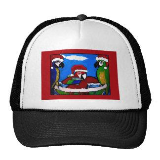 PARTY PARROTS TRUCKER HAT