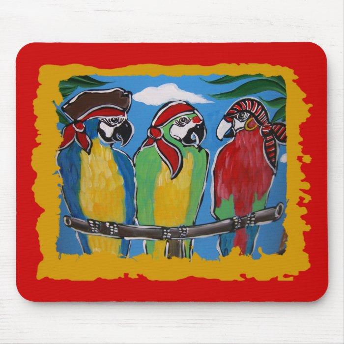 Party Parrots Mouse Pad