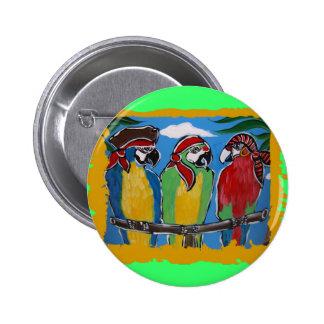 Party Parrots Pinback Button