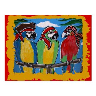 Party Parrots Post Cards