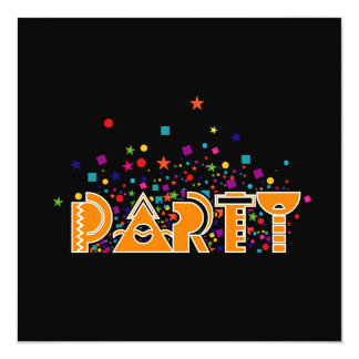Party, Party Invitation