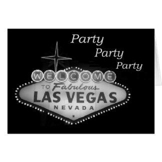 Party Party Party Las Vegas Invitations