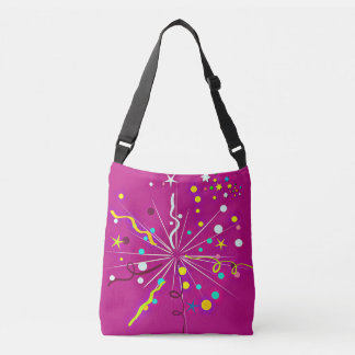 Party Party, pink Crossbody Bag