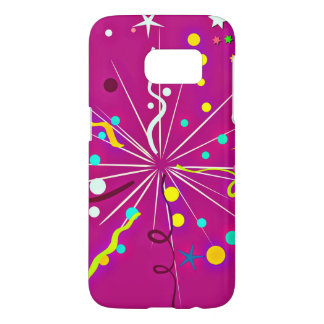 Party Party, pink Samsung Galaxy S7 Case