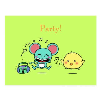 Party, Party! Postcard