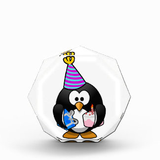 Party Penguin Acrylic Award