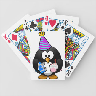Party Penguin Bicycle Playing Cards
