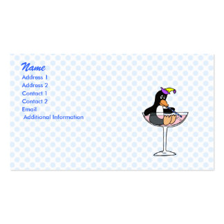 Party Penguin Business Card