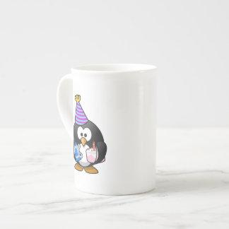 Party Penguin Cute Cartoon Tea Cup