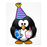 Party Penguin Full Color Flyer