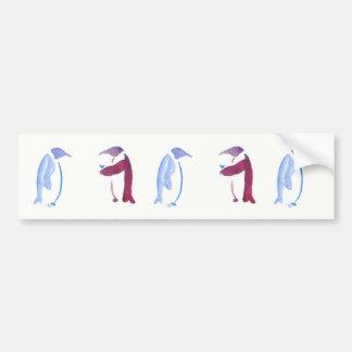 Party Penguins Bumper Sticker