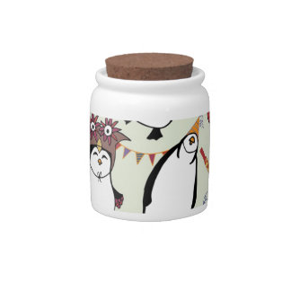 Party Penguins in Disguise Candy Dish