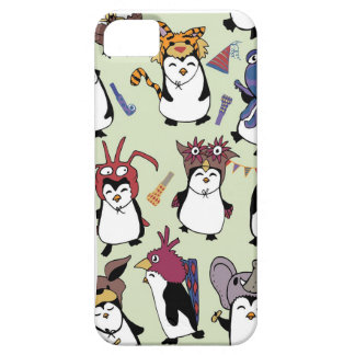 Party Penguins in Disguise iPhone 5 Cover