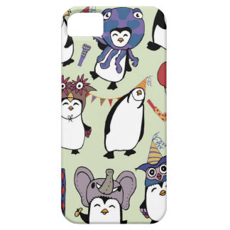 Party Penguins in Disguise iPhone 5 Covers