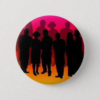 Party People copy Pinback Button