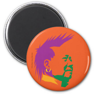 PARTY PEOPLE 2 INCH ROUND MAGNET
