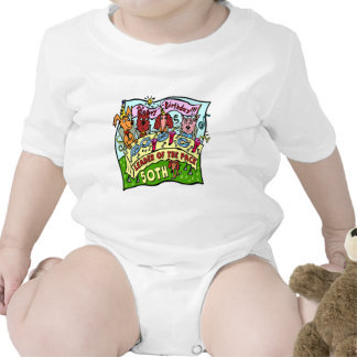 Party Pets 50th Birthday Gifts Baby Bodysuits