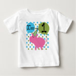 Party Pig First Birthday Tee Shirt