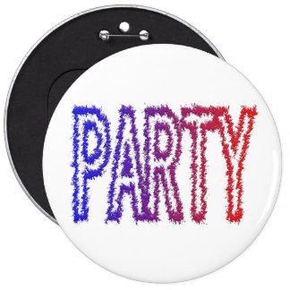 Party Pinback Button