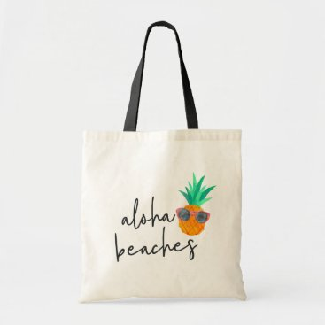 Beach Themed Party Pineapple Tote Bag
