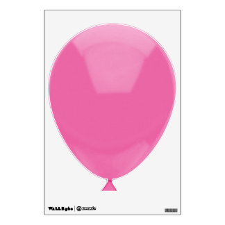 Party Pink Balloon Wall Sticker