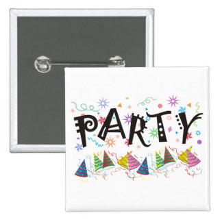 PARTY~Pins Pin Cuadrado