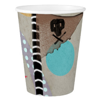 Party Pirate Skull Paper Cup