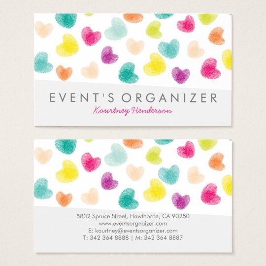 Party planner professional colourful confetti business card party planner professional colourful confetti business card colourmoves