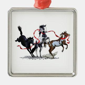 Party Ponies Metal Ornament