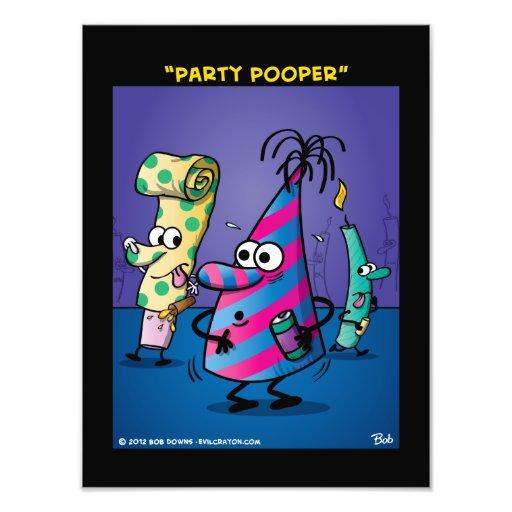 """Party Pooper"" Photo Print"