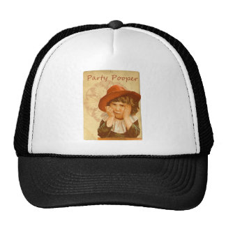 Party Pooper Victorian Girl Trucker Hat