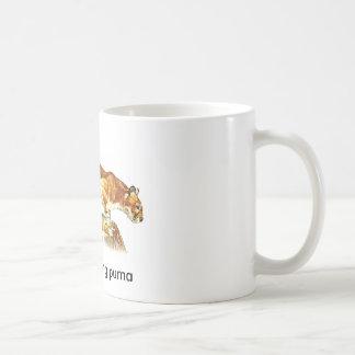 party-pooping puma coffee mug