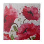 Party Poppies Tiles