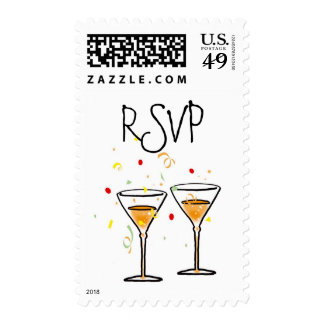 Party Postage Stamps