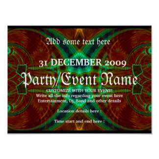 Party Poster #010 Poster