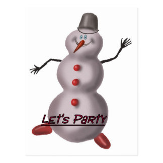 party poster postcard