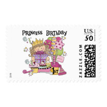 Party Princess 1st Birthday tshirts and Gifts Postage