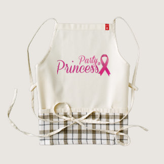 Party Princess® Brand Apron for Breast Cancer