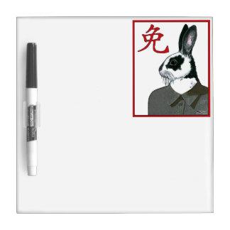 Party Rabbit Dry-Erase Board