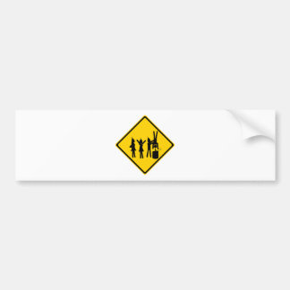 Party Road Sign Bumper Stickers