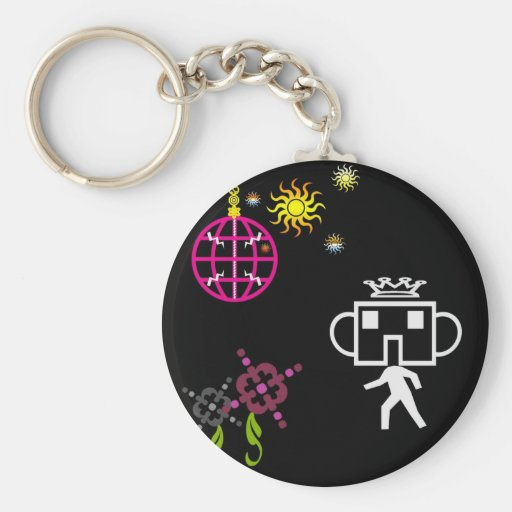 Party Robo Keychains