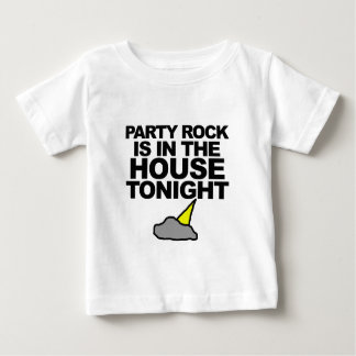 Party Rock Is In The House Tonight Baby T-Shirt