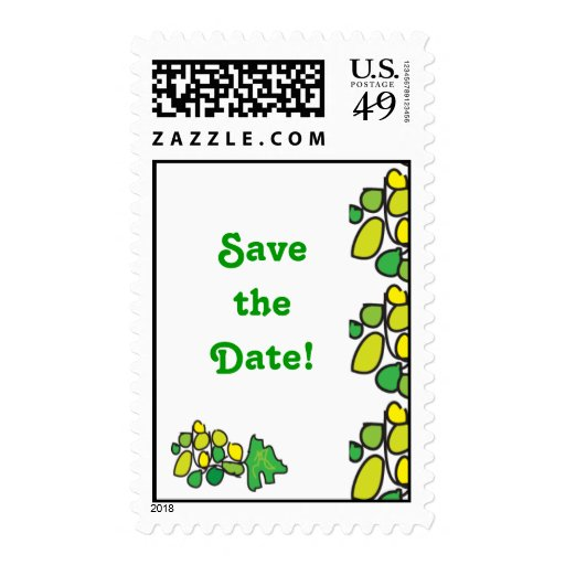 Party Save the Date Stamps