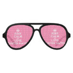 [Crown] keep calm and love hunter hayes  Party Shades